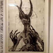 Toshihiko Ikeda - The smiling old Queen, sprouting horns from chaos